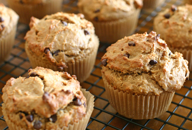 these muffins is surprisingly beautiful for a vegan, low-gluten muffin ...